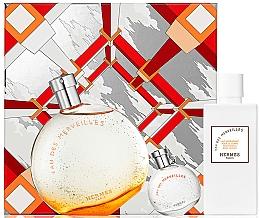 Parfumuri și produse cosmetice Hermes Eau Des Merveilles - Set (edt/100ml + edt/7.5ml + b/lot/40ml)