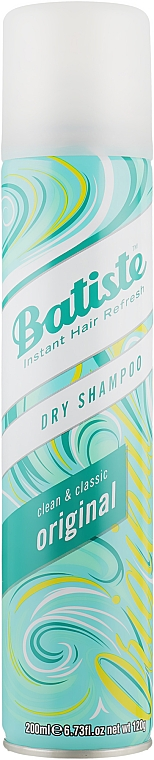 Șampon uscat - Batiste Dry Shampoo Clean and Classic Original