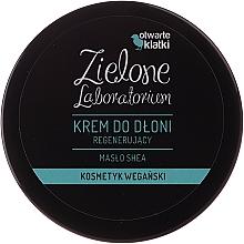 """Parfumuri și produse cosmetice Cremă regenerantă pentru mâini """"Unt de Shea"""" - Zielone Laboratorium"""