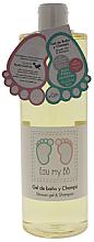 Parfumuri și produse cosmetice Gel de spălare pentru corp și păr - Air-Val International Eau My BB Shower Gel & Shampoo
