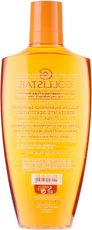 Șampon hidratant - Collistar Dopo-Sole Doccia-Shampoo Idratante Restitutivo — Imagine N2