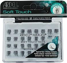 Parfumuri și produse cosmetice Gene false - Ardell Soft Touch Trio Individuals Medium Black