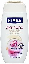 "Cremă-Gel de duș ""Roua de diamant"" - Nivea Bath Care Diamond Touch Shower Gel — Imagine N3"