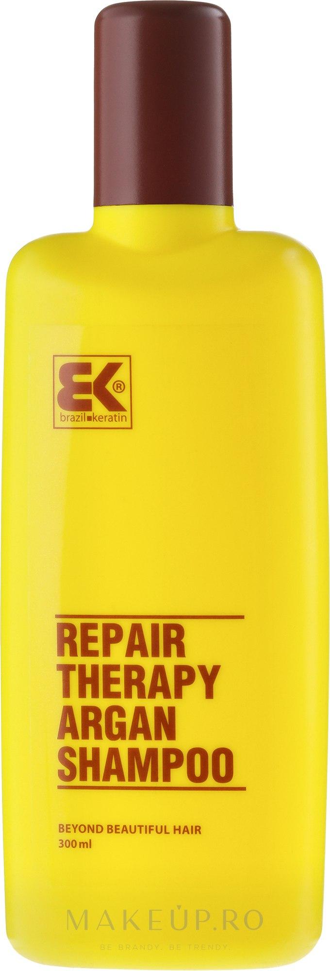 Șampon cu ulei de argan - Brazil Keratin Therapy Argan Shampoo — Imagine 300 ml
