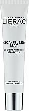 Parfumuri și produse cosmetice Cremă-gel de față - Lierac Cica-Filler Mat Anti-Wrinkle Repairing Cream-Gel