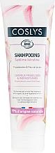 Parfumuri și produse cosmetice Șampon cu crin și keratină pentru păr deteriorat - Coslys