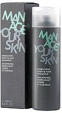 Parfumuri și produse cosmetice Șampon pentru corp și păr - Dr. Spiller Manage Your Skin Energizing Body & Hair Shampoo