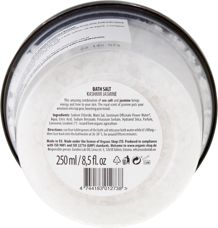 "Sare de baie ""Iasomie de cașmir"""" - Organic Shop Baths Salt Organic Jasmine & Salt — Imagine N2"