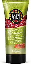 """Parfumuri și produse cosmetice Balsam de corp """"Pară și Afine"""" - Farmona Tutti Frutti Smoothing Body Balm Pear & Cranberry"""