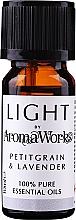 "Parfumuri și produse cosmetice Ulei esențial ""Petitgrain și Lavandă"" - AromaWorks Light Range Petitgrain and Lavender Essential Oil"