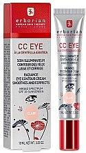 Parfumuri și produse cosmetice CC-cremă pentru pielea din jurul ochilor - Erborian Finish CC Eye Cream
