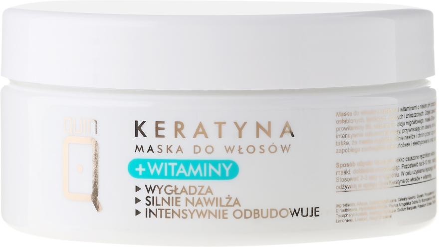 Mască pe bază de vitamine și keratină pentru păr - Silcare Quin Keratin & Vitamins Hair Mask