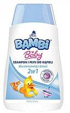 Parfumuri și produse cosmetice Șampon- gel de duș pentru copii 2in1 - Pollena Savona Bambi 2in1 Shampoo & Shower Gel