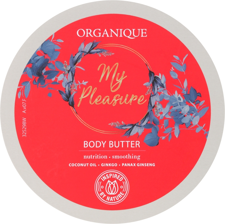 Ulei de corp - Organique My Pleasure Body Butter — Imagine N1