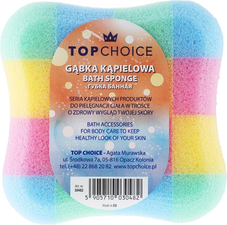 "Burete de baie ""pătrat"" 30482, multicolor - Top Choice"