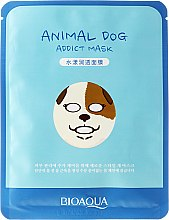 "Mască folie anti-rid ""Dog"" - Bioaqua Animal Dog Addict Mask — Imagine N1"