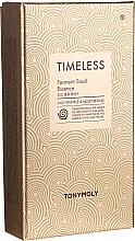 Parfumuri și produse cosmetice Set - Tony Moly Timeless Ferment Snail Essence Gift Set (essence/50ml + toner/20ml + emul/20ml)