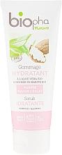 Parfumuri și produse cosmetice Scrub hidratant cu unt de shea pentru față - Biopha Nature Scrub Idratante