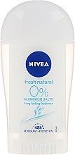 """Parfumuri și produse cosmetice Deodorant solid """"Prospețime naturală"""" - Nivea Fresh Natural Deodorant Stick"""