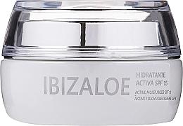 Parfumuri și produse cosmetice Cremă activă hidratantă - Ibizaloe Moisturizing Cream SPF15