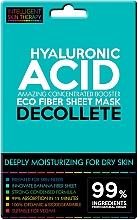 Parfumuri și produse cosmetice Mască-express pentru zona decolteului - Beauty Face IST Extremely Moisturizing Decolette Mask Hyaluronic Acid