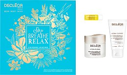 Parfumuri și produse cosmetice Set - Decleor Stop Breathe Relax (ser/5ml + cr/50ml + cleansing/mousse/50ml)