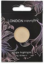 Parfumuri și produse cosmetice Iluminator pentru față - London Copyright Magnetic Face Powder Highlight (Moonshine)