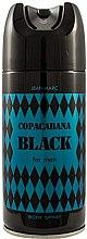 Parfumuri și produse cosmetice Jean Marc Copacabana Black For Men - Deodorant