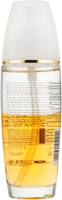 Cristale lichide pentru păr - Brelil Bio Traitement Beauty Cristalli Liquidi Easy Shine — Imagine N2