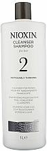 Parfumuri și produse cosmetice Șampon de curățare - Nioxin Thinning Hair System 2 Cleanser Shampoo