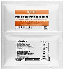 Parfumuri și produse cosmetice Mască de față, cu enzime - Lynia Peel Off Gel Enzymatic Peeling