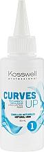 Parfumuri și produse cosmetice Soluție pentru ondulare permanentă a părului natural - Kosswell Professional Curves Up 1