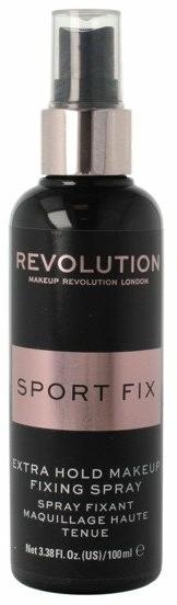 Spray pentru fixarea machiajului - Makeup Revolution Sport Fix Extra Hold — Imagine N1