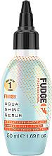Parfumuri și produse cosmetice Ser pentru păr - Fudge Aqua Shine Serum