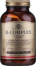 "Parfumuri și produse cosmetice Vitamine ""B-complex 100"" - Solgar B-Complex"