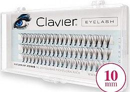 Parfumuri și produse cosmetice Gene false, 10 mm - Clavier Eyelash