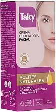 Parfumuri și produse cosmetice Cremă pentru epilat, față - Taky Expert Face Hair Removal Cream