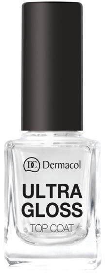 Fixator de unghii - Dermacol Ultra Gloss Top Coat — Imagine N1