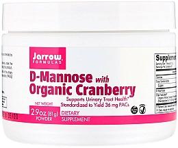 Parfumuri și produse cosmetice Suplimente nutritive - Jarrow Formulas D-Mannose with Organic Cranberry