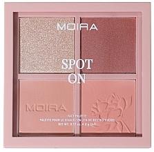 Parfumuri și produse cosmetice Paletă de machiaj - Moira Spot On Face Palette