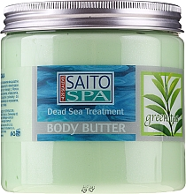 Parfumuri și produse cosmetice Unt cu extract de ceai verde pentru corp - Saito Spa Body Butter