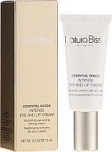 Parfumuri și produse cosmetice Cremă intensivă pentru buze și pielea din jurul ochilor - Natura Bisse Essential Shock Intense Eye and Lip Treatment SPF15