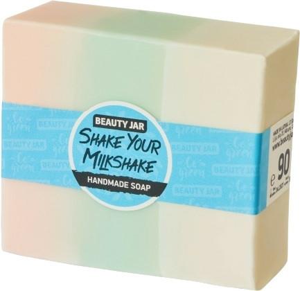 Săpun cu glicerină, aromă de căpșune - Beauty Jar Shake Your Milkshake Handmade Soap