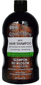Șampon cu extract de bambus și urzică pentru bărbați - Bluxcosmetics Naturaphy Bamboo & Nettle Extracts Man Shampoo