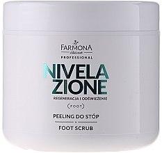 Parfumuri și produse cosmetice Peeling pentru picioare - Farmona Professional Nivelazione