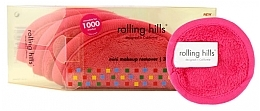 Parfumuri și produse cosmetice Mini prosop pentru îndepartarea machiajului, roz - Rolling Hills Mini Makeup Remover Pink