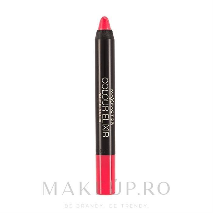Ruj de buze - Max Factor Colour Elixir Giant Pen Stick — Imagine 25 - Foxy Amber