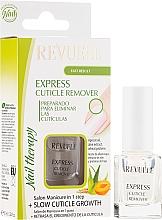 Parfumuri și produse cosmetice Soluție pentru eliminarea cuticulei - Revuele Express Cuticle Remover Nail Therapy