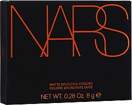 Parfumuri și produse cosmetice Bronzer - Nars Matte Bronzing Powder