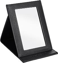 Parfumuri și produse cosmetice Oglindă tip carte, neagră - MakeUp Tabletop Cosmetic Mirror Black
